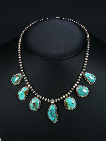Sierra Nevada Turquoise Mountain Tear Drop Necklace