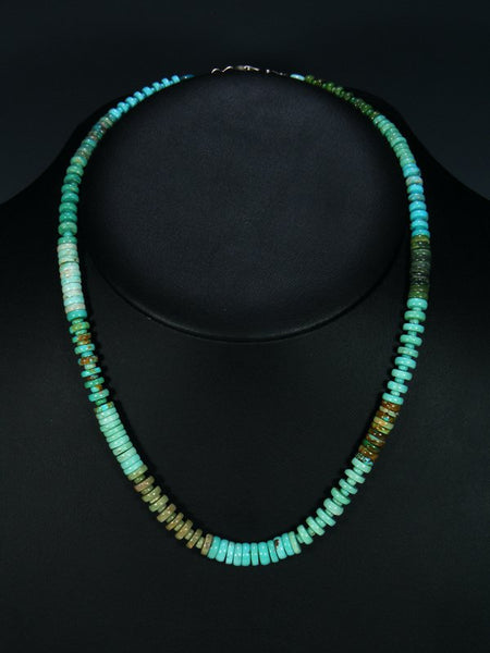 Native American Turquoise Single Strand Necklace