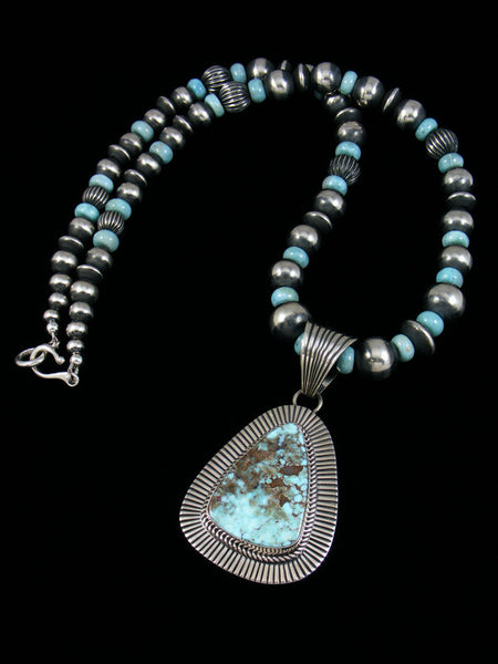 Native American Dry Creek Turquoise Necklace