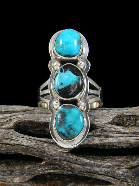Sierra Nevada Turquoise Ring, Size 6 1/2