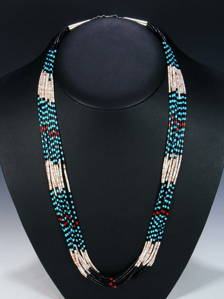 Santo Domingo Multi-Strand Necklace
