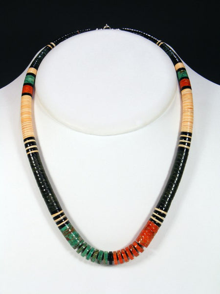Native American Santo Domingo Necklace