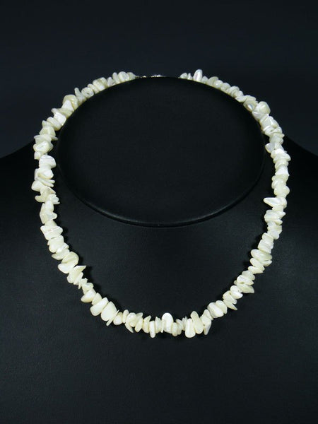 Navajo Mother of Pearl Single Strand Choker Necklace