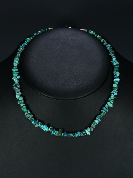 Native American Indian Jewelry Turquoise Choker Necklace