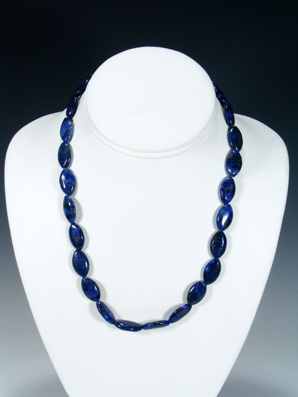 Native American Indian Jewelry Lapis Necklace