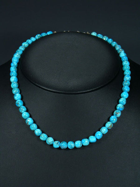 Native American Single Strand Turquoise Necklace