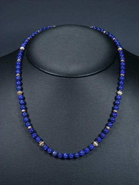 Native American Lapis Necklace