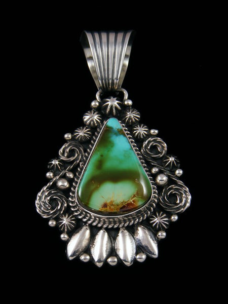 Native American Indian Royston Turquoise Pendant