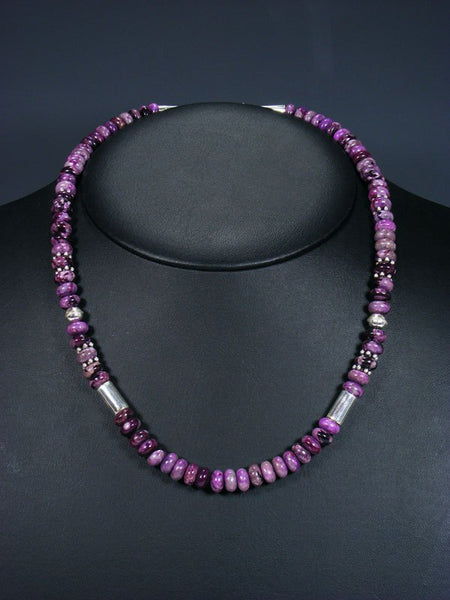 "20"" Single Strand Beaded Dyed Jasper Necklace"