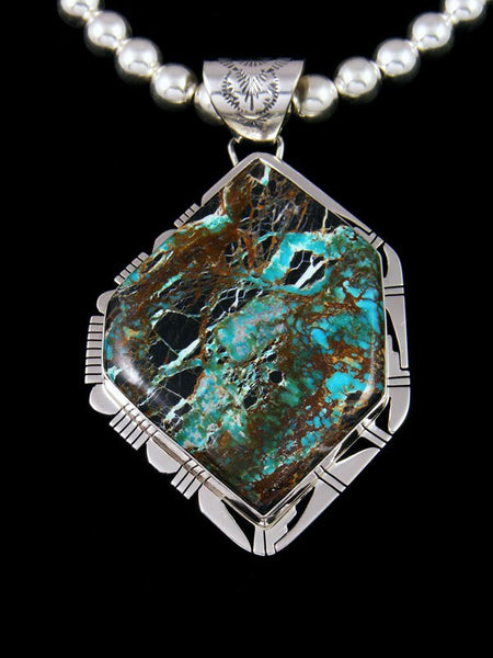 Native American Indian Jewelry Sunnyside Turquoise Necklace