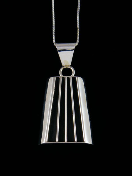 Navajo Sculpted Sterling Silver Pendant