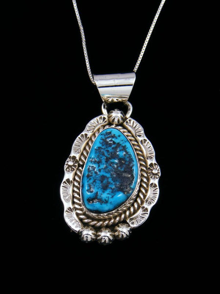 Native American Indian Jewelry Turquoise Pendant
