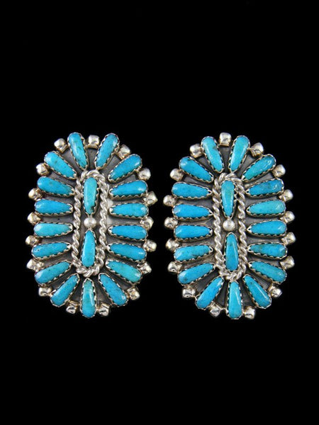 Native American Turquoise Post Earrings
