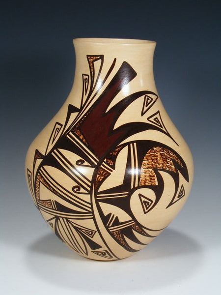 Hopi Hand Coiled Pottery Vase