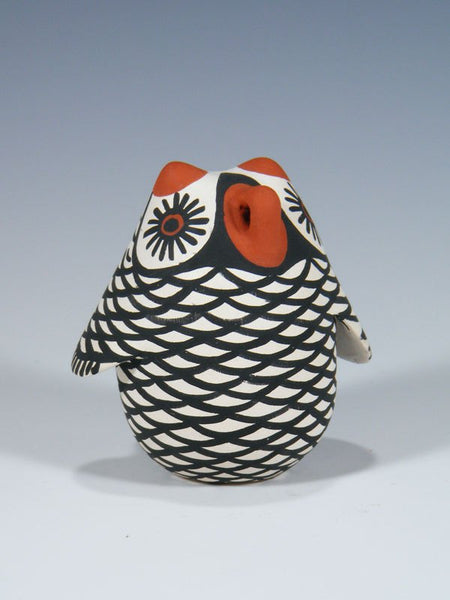 Zuni Pueblo Red Clay Pottery Owl Effigy