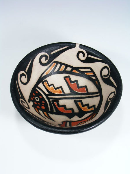 Santo Domingo Pueblo Pottery Bowl