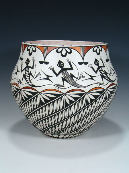 Acoma Pueblo Hand Painted Pottery