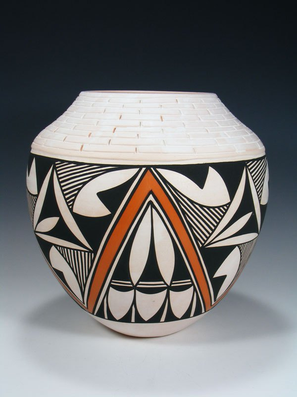 Acoma Pueblo Hand Coiled Pottery