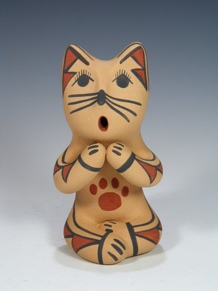 Jemez Pueblo Pottery Storyteller Cat