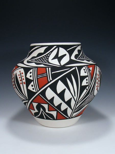 Acoma Pueblo Painted Pottery Bowl