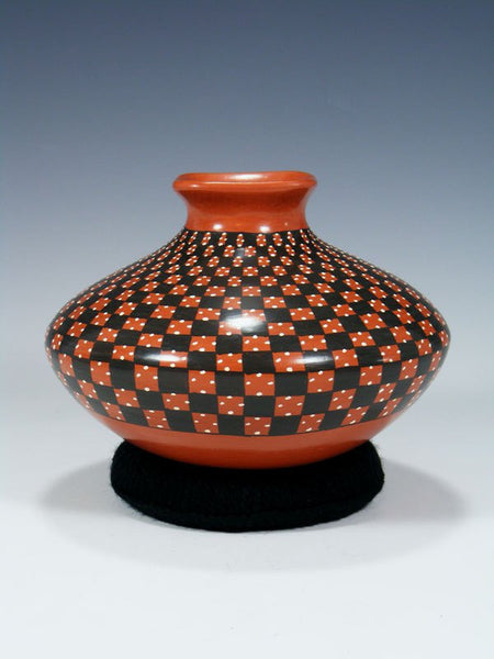 Mata Ortiz Red Pottery Olla