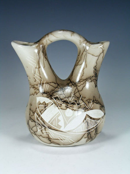 Horsehair Pottery Wedding Vase