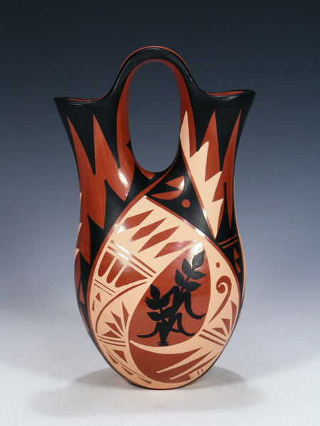 Jemez Pueblo Hand Coiled Wedding Vase
