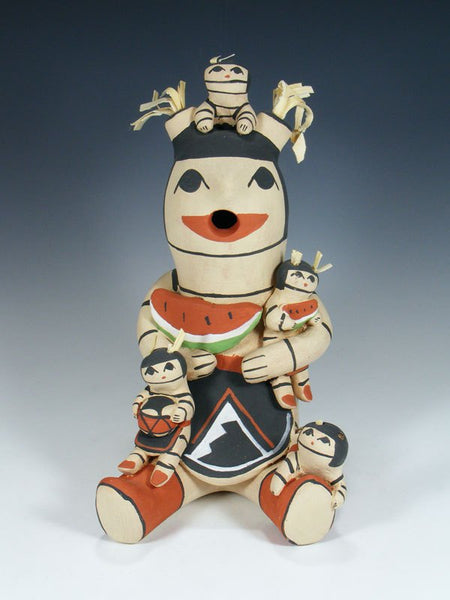 Clay Clown Koshare 4 Baby Jemez Pueblo Storyteller