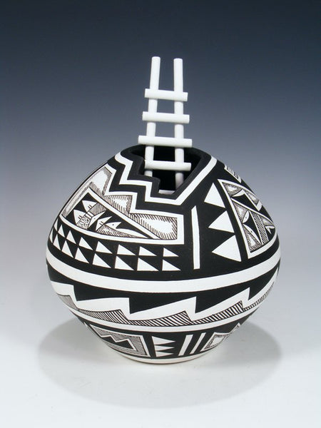 Black and White Ware Acoma Pueblo Pottery