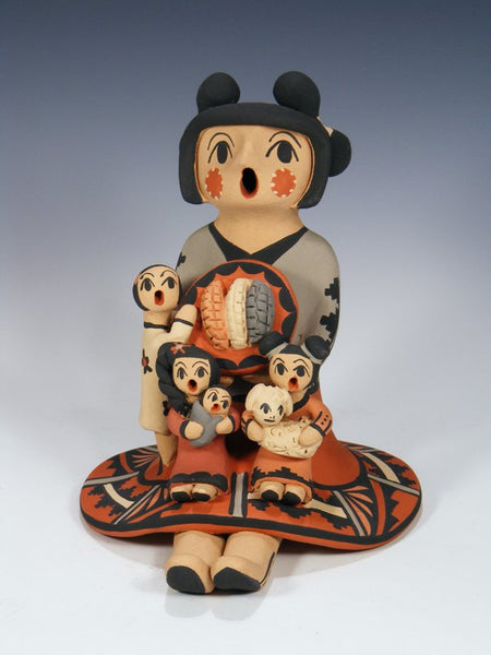 Copy of Jemez Pueblo Pottery 3 Baby Storyteller