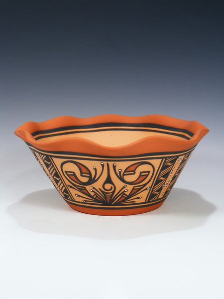 Zuni Pueblo Hand Made Pottery Bowl
