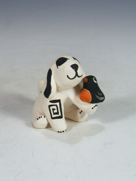 Acoma Pueblo Hand Made Pottery Storyteller Dog
