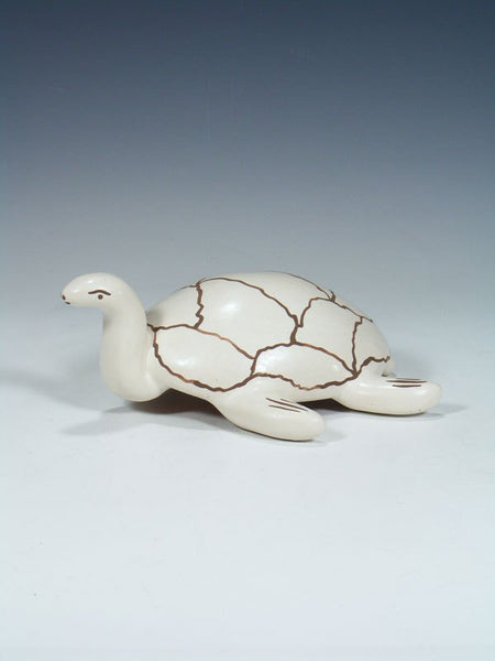 Isleta Pueblo Pottery Turtle Sculpture