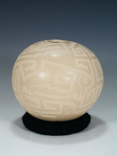 Mata Ortiz Carved Pottery