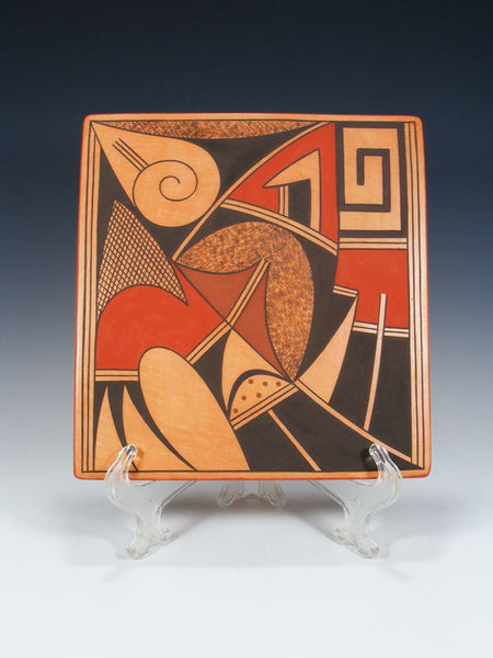Hopi Hand Made Pottery Painted Tile