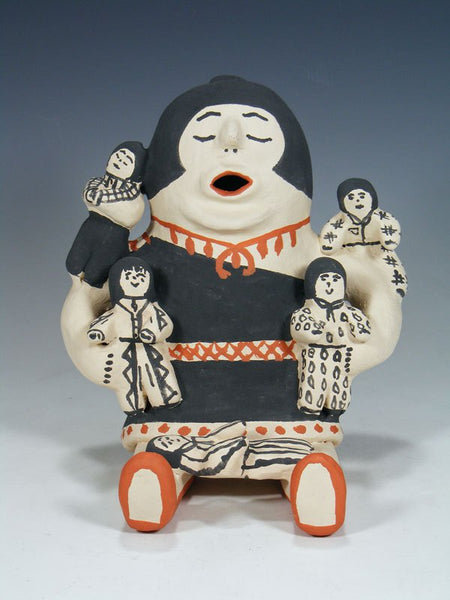 Cochiti Pueblo 4 Baby Storyteller Doll