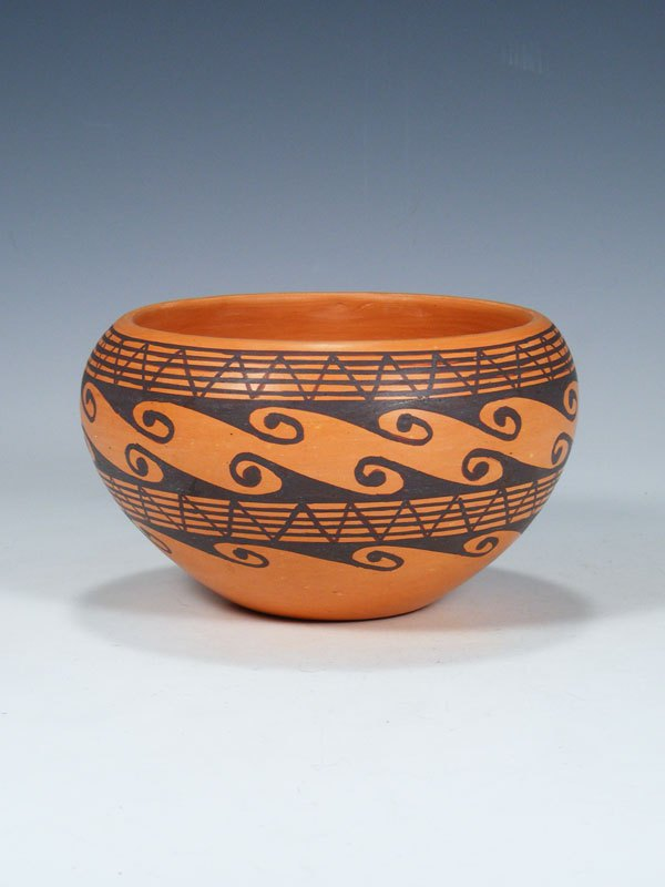 Hopi Hand Coiled Pottery Bowl