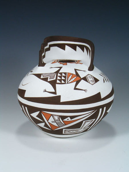 Acoma Pueblo Pottery Hand Coiled Pottery