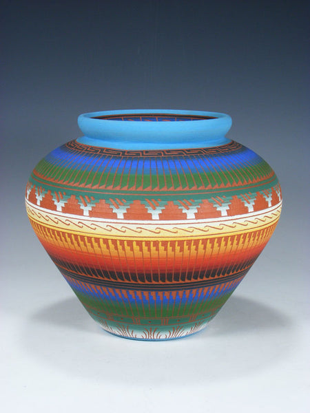 Navajo Etched Pottery