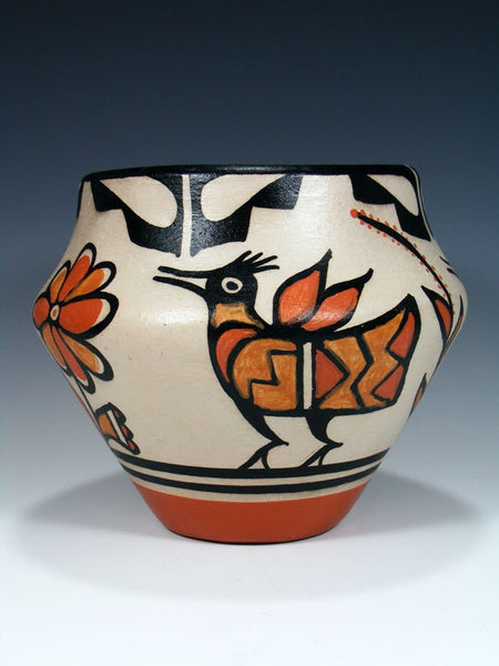 Santo Domingo Pueblo Pottery Bird Bowl