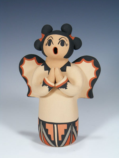 Jemez Pueblo Pottery Storyteller Angel Doll
