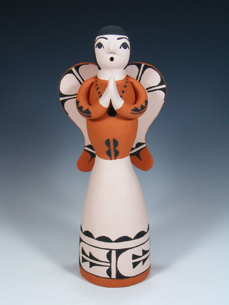Jemez Pueblo Pottery Storyteller Angel