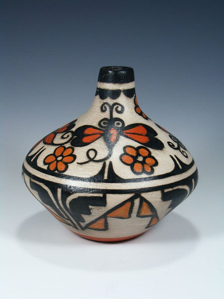 Santo Domingo Pueblo Pottery Painted Vase