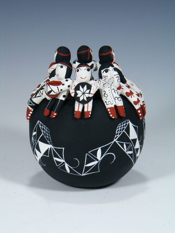 Cochiti Pueblo Hand Made Pottery Friendship Pot