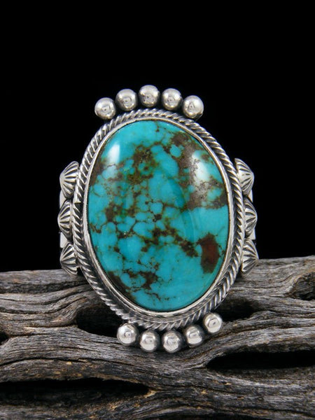 Sierra Nevada Turquoise Ring, Size 15