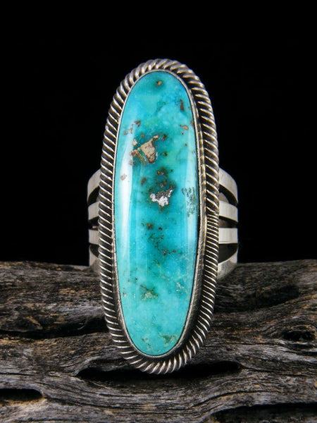 Navajo Turquoise Ring, Size 7 1/2