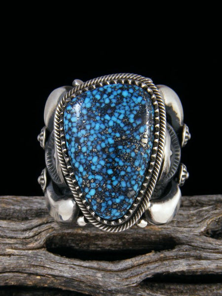 Ithaca Peak Kingman Turquoise Sterling Silver Ring Size 9 1/2