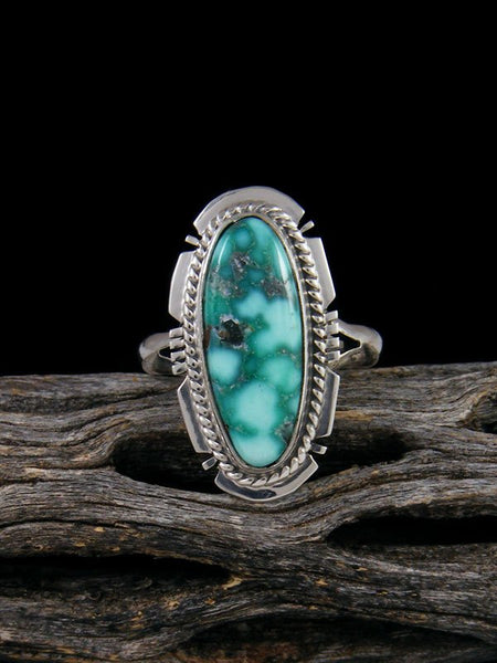 White Water Turquoise Ring, Size 6