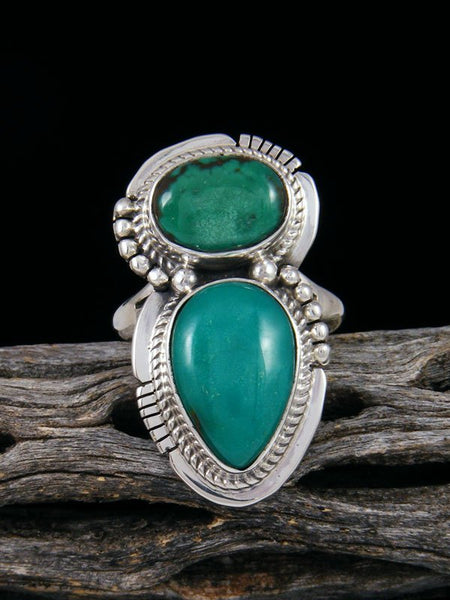 Sierra Nevada Turquoise Ring, Size 8.5