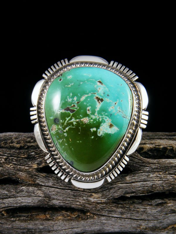 Natural Royston Turquoise Ring, Size 7